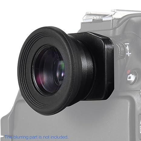 Andoer 1.51 X Foco Fijo Visor Ocular Lupa para Canon Nikon Sony ...