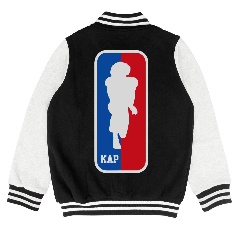 FPFLY Kids Girls Boys KAP-Football-Player Fashion Cotton Jacket Button Baseball Uniform 2-10 Years