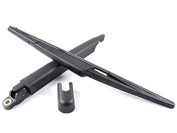 Limpiaparabrisas trasero y cuchillas 410 mm), color negro: Amazon.es: Coche y moto