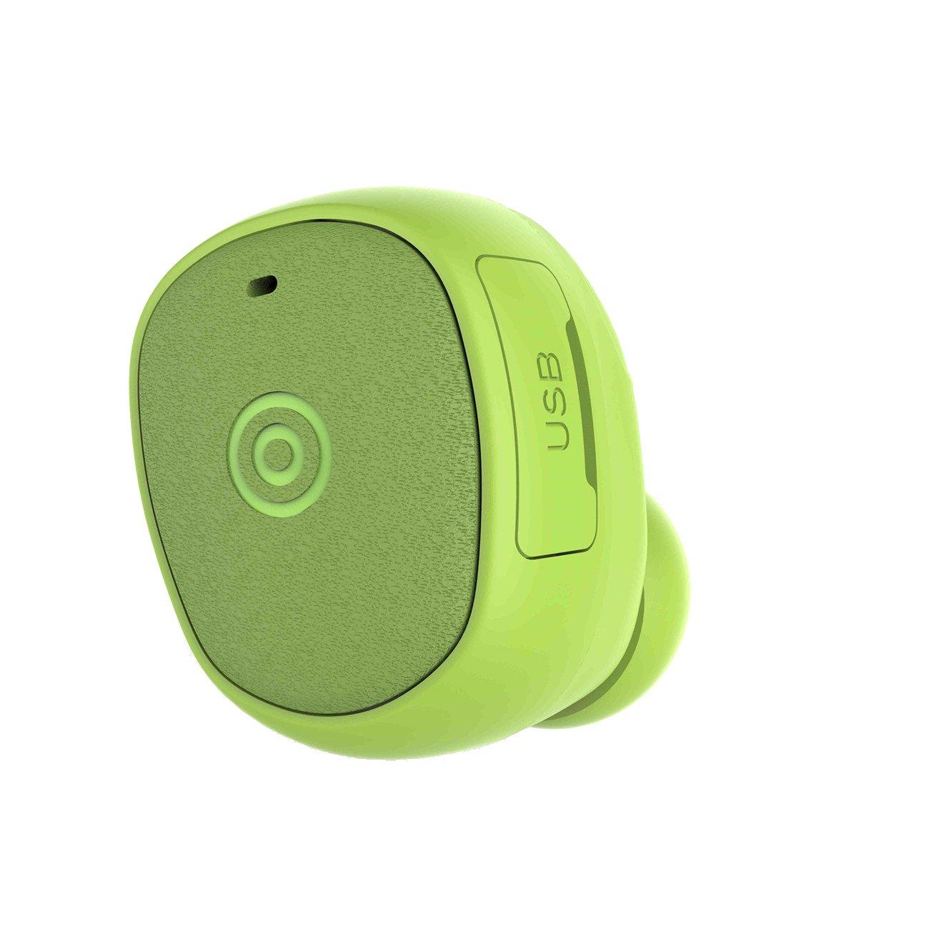 Green Wireless Mini Cell Phone Bluetooth Ear Piece