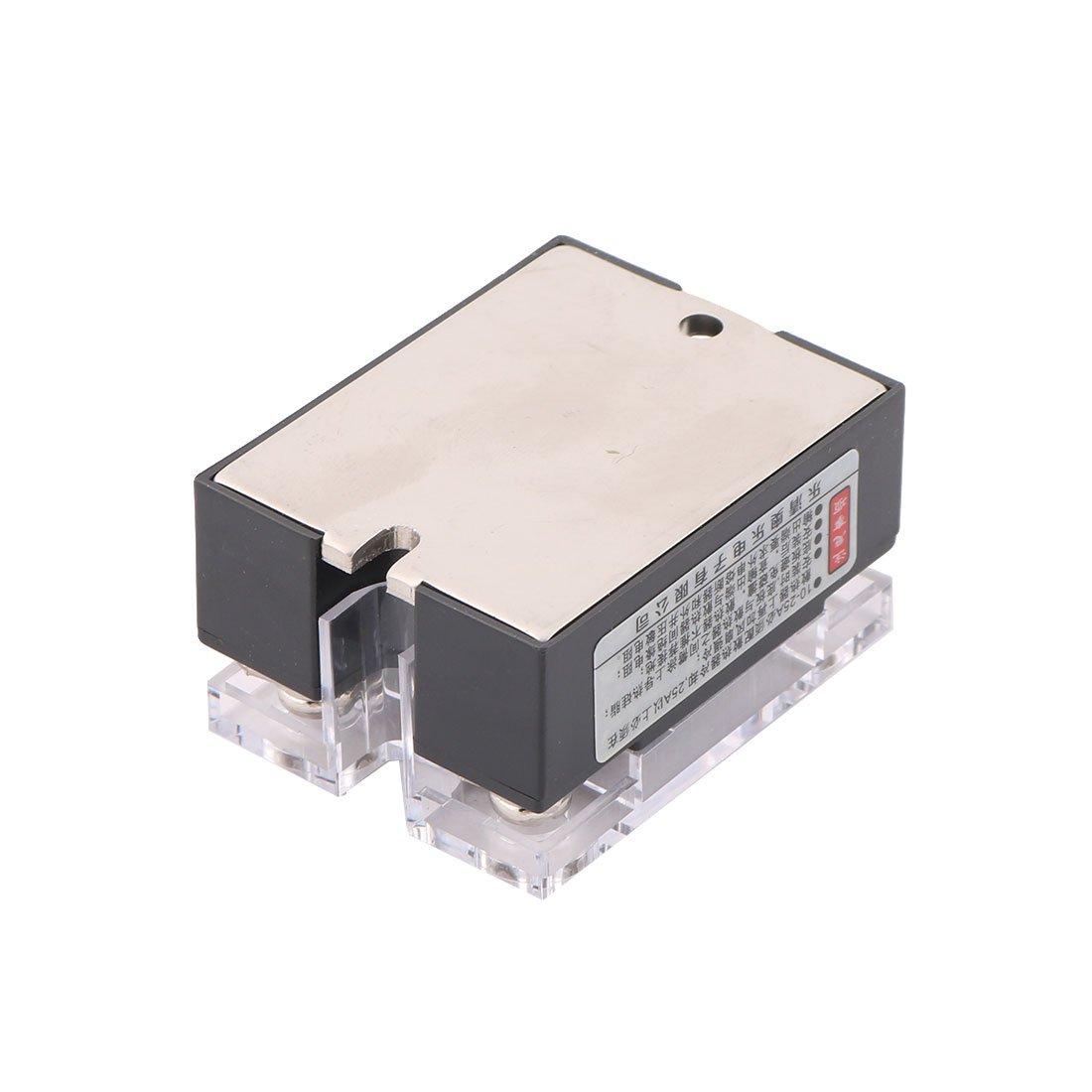 sourcingmap/® ASH-40DD 3-32VDC a 5-60VDC 40A unica Fase Rel/é de estado s/ólido DC-DC