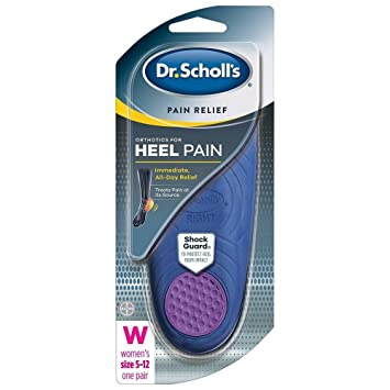 06d909cf66 Image Unavailable. Image not available for. Color: Dr. Scholl's Heel Pain  Relief Orthotics ...