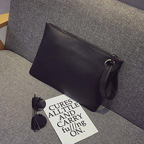 LA HAUTE - Cartera de mano para mujer gris gris negro