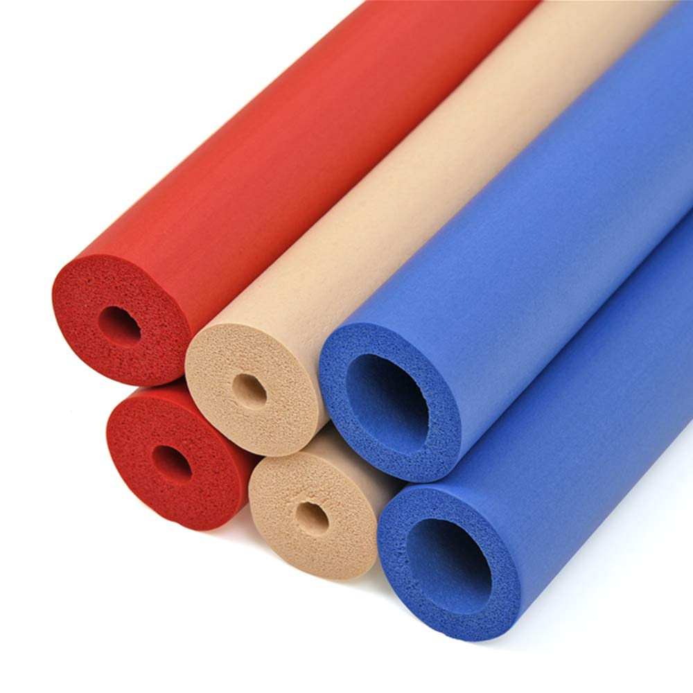 Maddak Closed-Cell Foam Tubing for Grip Support, Standard Colors (766900182)
