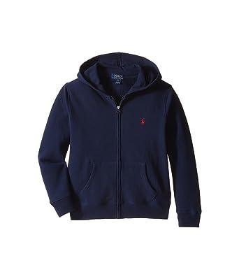 Ralph Lauren New véritable Veste zippée à Capuche pour garçon - -   Amazon.fr  Vêtements et accessoires fa222e4a067e