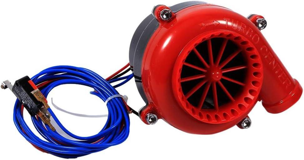 Car Fake Dump Valve Electronic Turbo Car Engine Exhaust Valves Electronic Fake Dump Turbo Blow Off Hooter Valve Analog Sound BOV Simulator Kit