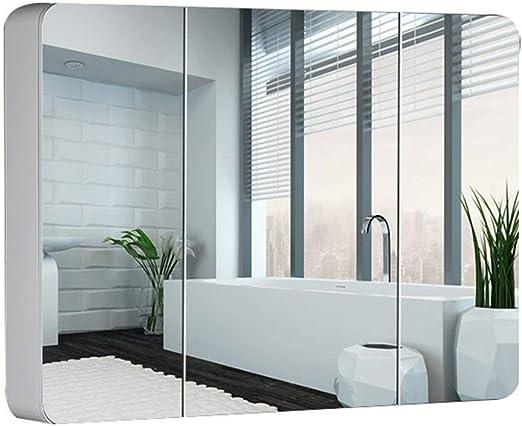 Armarios con espejo Armarios Baño combinación de Tres Puertas ...
