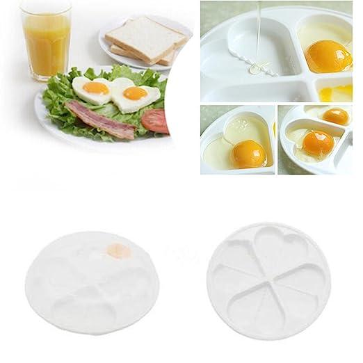 gaddrt COCEDOR de huevos para microondas huevo frito molde corazón ...