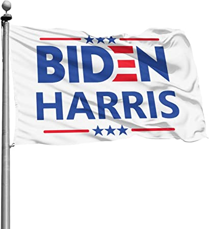 Amazon Com Gmwd Biden Harris 2020 Flag 4x6 Ft Polyester American Outdoor Flag Garden Outdoor