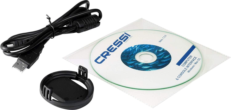 Cressi interface Dive Computer.