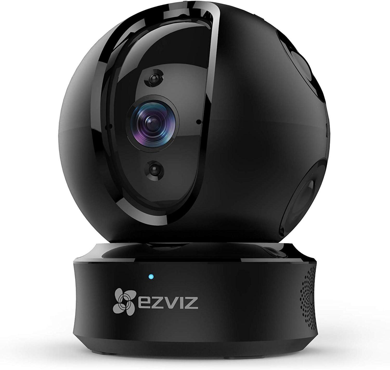 EZVIZ Caméra de sécurité inclinable avec dôme, Noir, 1080p