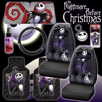 Stupendous Amazon Com New 9 Pieces Disney Nightmare Before Christmas Bralicious Painted Fabric Chair Ideas Braliciousco