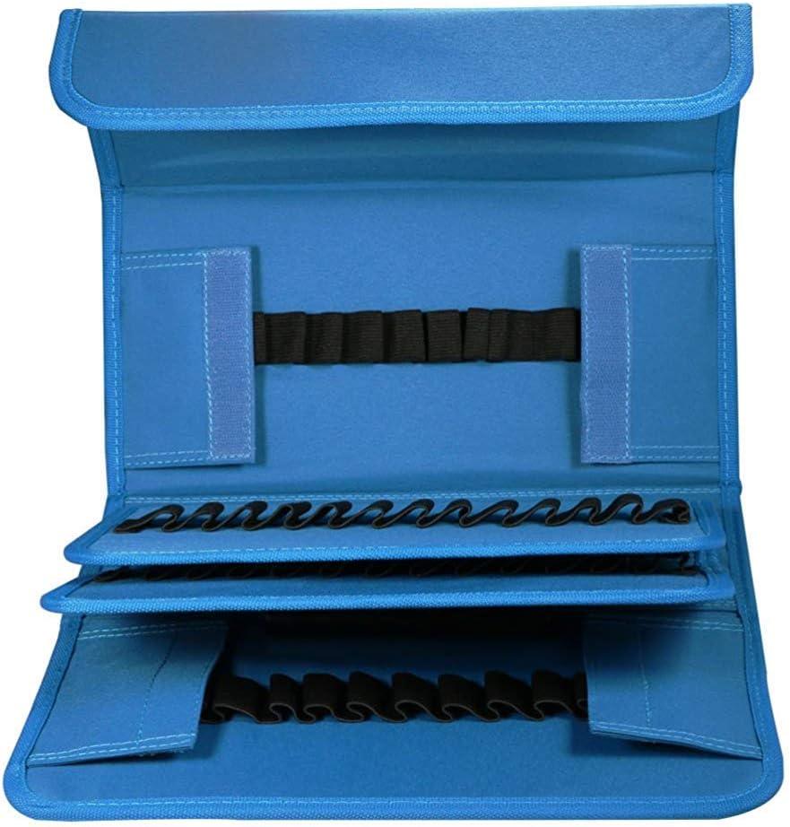 Avec Poign/ée et Sangle D/'/épaule pour le Transport Marqueurs non Fournis UTRO /étuis /à Crayons Trousse Art Marker Sac de Crayon pour 80 Marqueurs