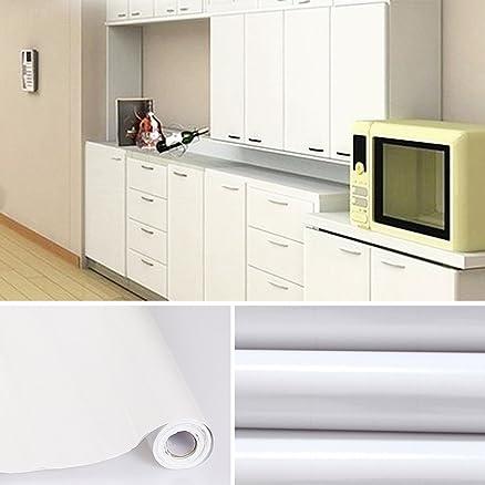 JM-Mart Adesivo per Cucina 5M x 0.61M / Rotolo, PVC Adesivo ...