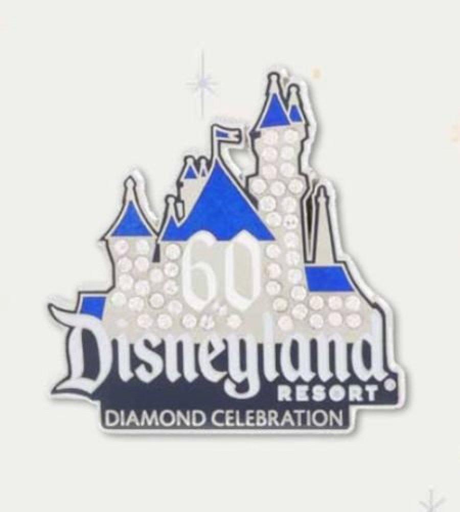 Amazon Disneyland 60th Anniversary Diamond Celebration Sleeping Beauty Castle Trading Pin Toys Games