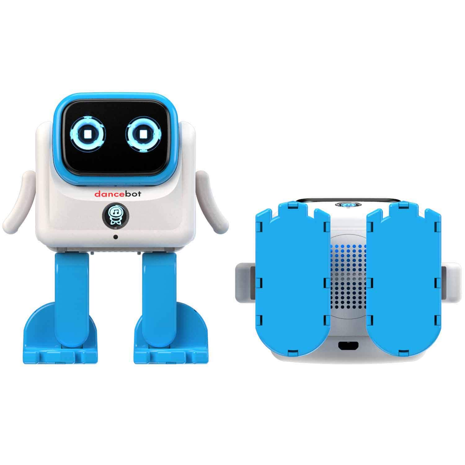 Echeers Kids Toys Dancing Robot for Boys and Girls, Educational Dancing Robot Toys for Kids with Stereo Bluetooth Speakers, Rechargeable Dance Robot Follow Music Beats Rhythm, All Age Children - Blue by ECHEERS (Image #10)