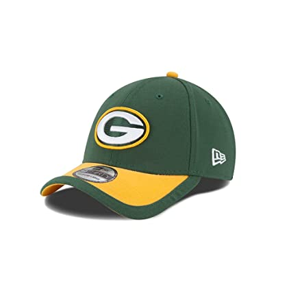 New Era Men s Green Bay Packers 39Thirty 2015 On Field Hat Green Yellow  Size Small 24149381e3d