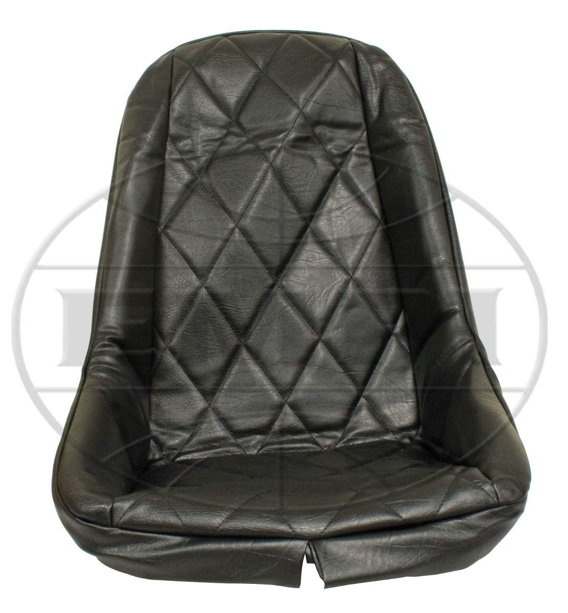 Empi 3880 Black Vinyl Low Back Bucket Seat Cover  Dune Buggy Vw Baja Bug,  Each