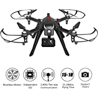 RCtown Brushless Drone Support Gopro Action Cameras, RC Quadcopter