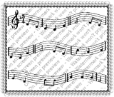 Musical Notes Designer Prints ~ Edible Image Icing Cake Topper ~ New!!!