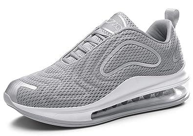 sale retailer bfc7a 6b25c Damen Herren Laufschuhe Sportschuhe Turnschuhe Trainers Running Fitness  Atmungsaktiv Sneakers(Grau,Gr??e 39)