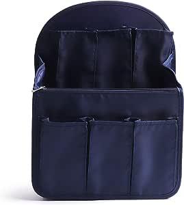 HDWISS Lightweight Backpack Organiser Insert, Backpack Organiser Rucksack Shoulder Bag for Fjallraven kanken Women and girl Large - Dark Blue