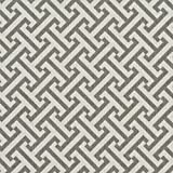 A207 Outdoor Indoor Marine Upholstery Fabric By The Yard | Greek Key Geometric - Grey And White