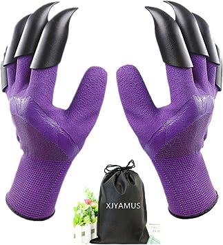 Garden Genie Gloves, Waterproof Garden Gloves with Claw - Best For Digging
