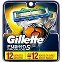12-Count Gillette Fusion5 ProGlide Men's Razor Blades Refills