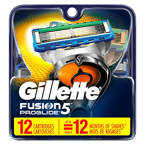 Gillette Fusion Proglide5 Men's Razor 12Cartridges.