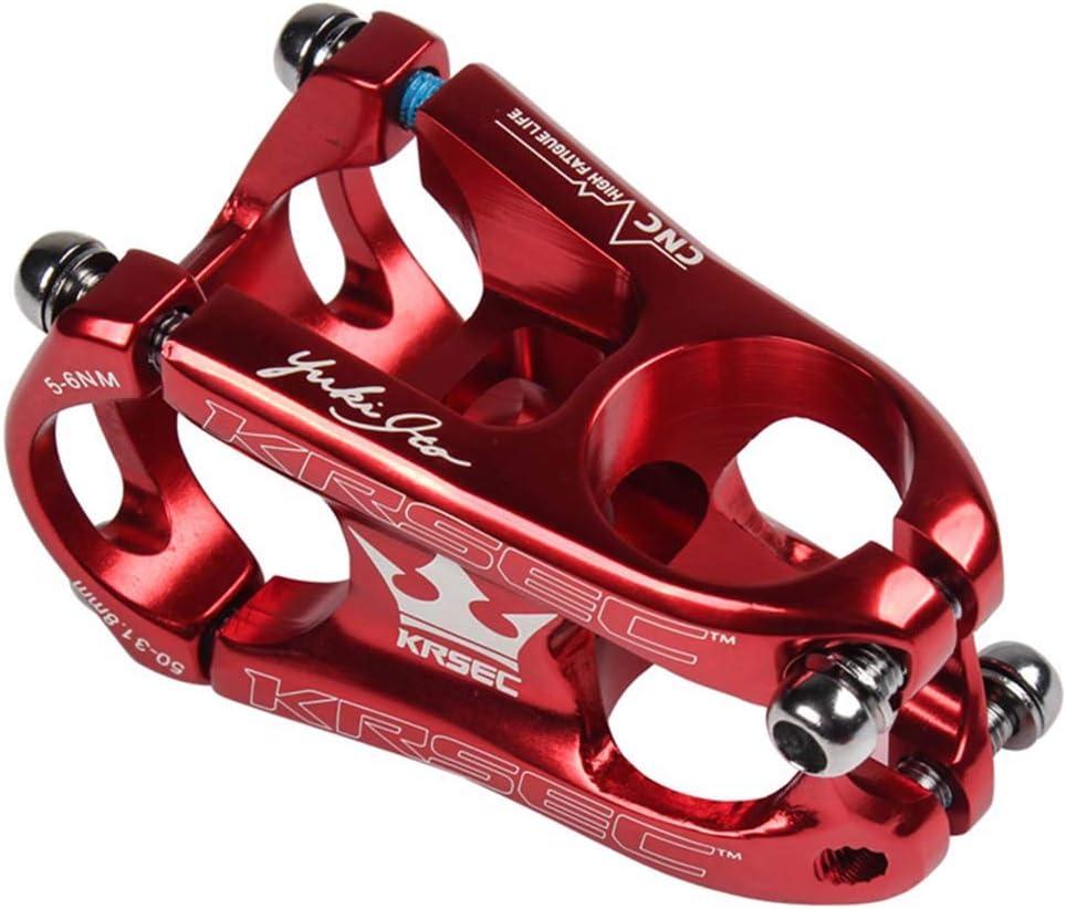 ROWEQPP Bike Stem 31.8 mm Aluminium Alloy Downhill Bicycle Stem MTB Cross Country XC Bike Accessories