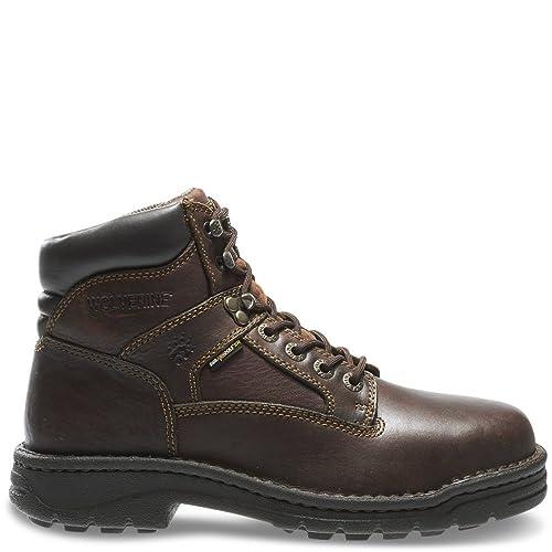 b620e003c4b Wolverine Men's Exert 6 Inch Steel EH Dura SR Work Boot