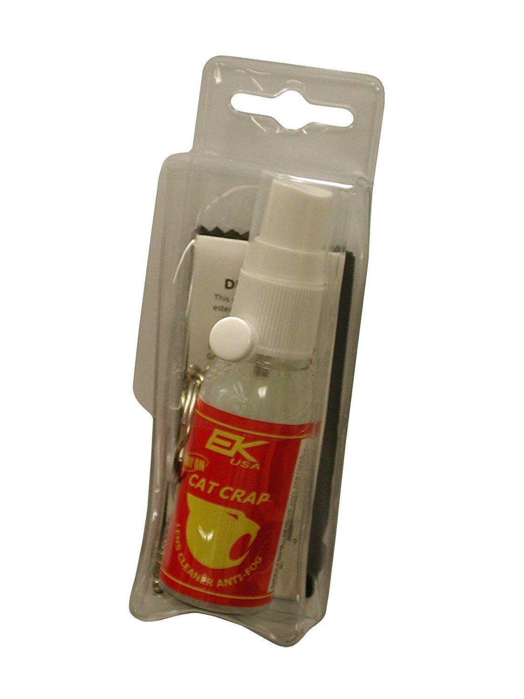 EK USA Cat Crap Spray-On Care Kit, Multi-Use Anti Fog Spray, for any Optics, Coatings, and Eyeglass Lens Cleaner