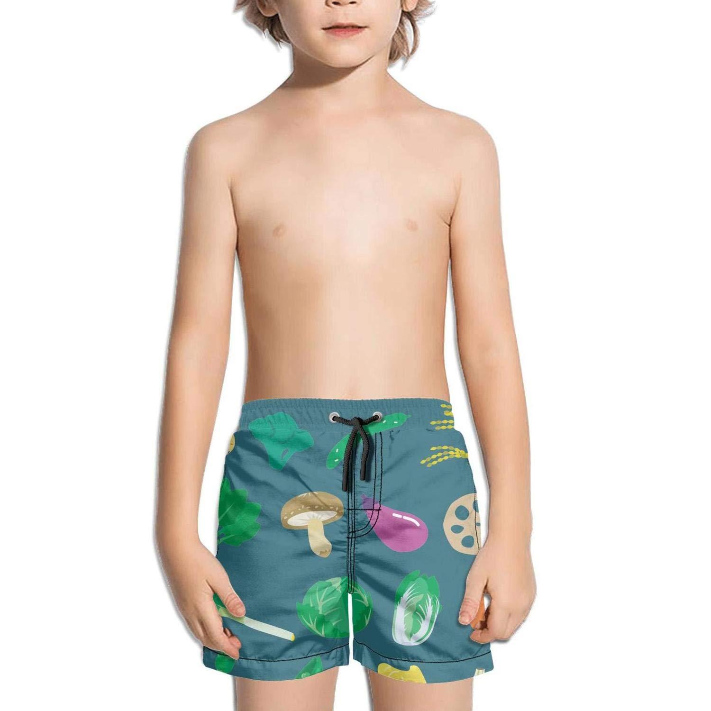 Landayboys Boys Summer Swim Trunks Beach Shorts Cool Hornet Quick Dry Swim Trunks
