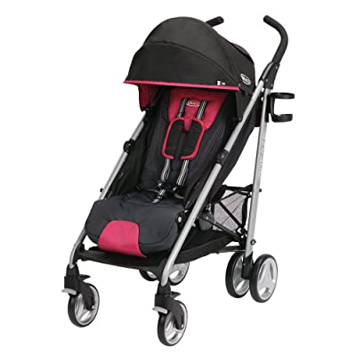 Graco Breaze Click Connect Stroller, Azalea