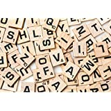 200 Scrabble Tiles - 2 Complete Sets - Perfect for Crafts and Scrapbooking