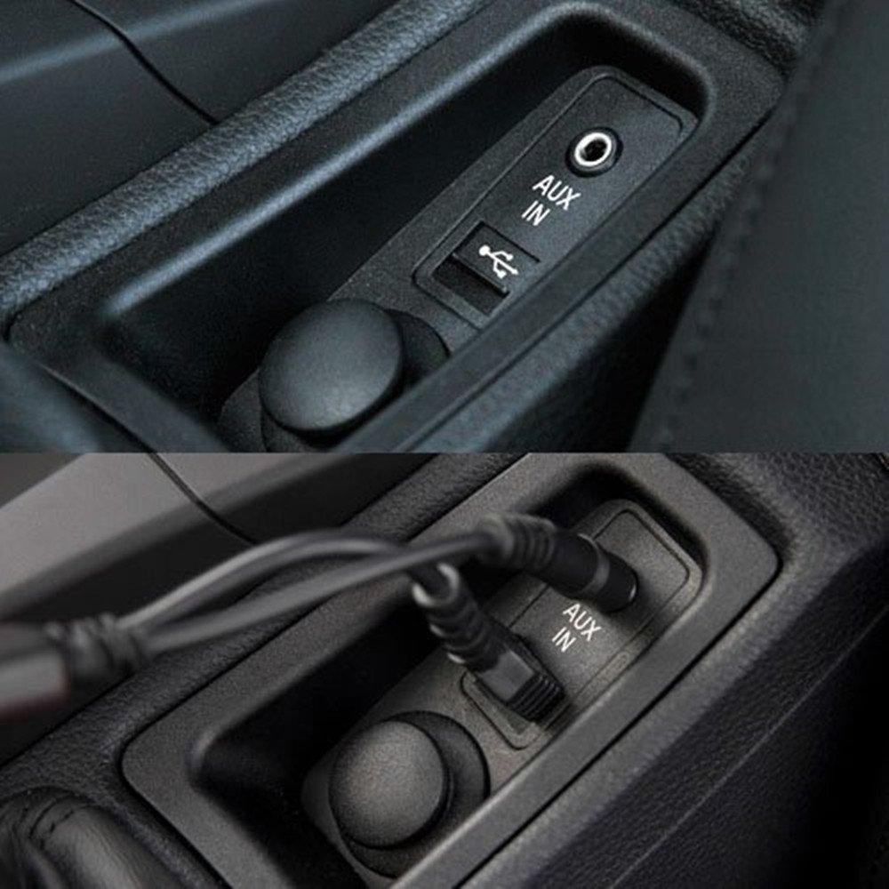 Shine adattatore AUX Idrive cavo interfaccia USB a 3.5/mm jack maschio connettore per BMW//MINI Cooper 2007/e Up