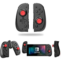 Wireless Switch Joy Con Controller, Vivefox Ergonomic Switch Controller L/R Replacement Joycon with Grip Connector Turbo…