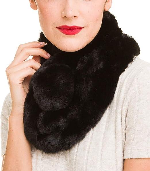 Winter Warm Collar Scarves  Imitation Rabbit Fur  Neck Warmer Children Scarf