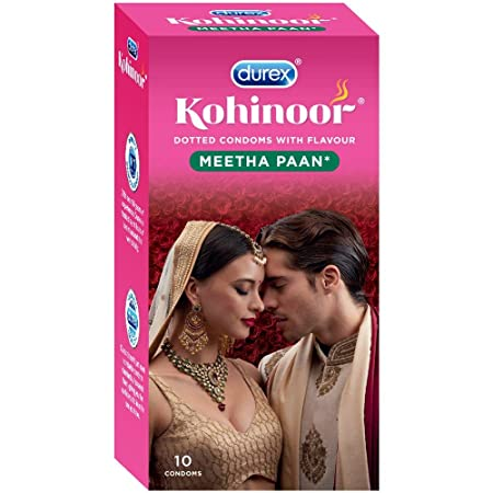 Kohinoor Durex Condoms - 10 Count (Meetha Pan)