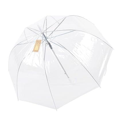 Remedios Claro umbrella con cupula PVC Paragua transparente