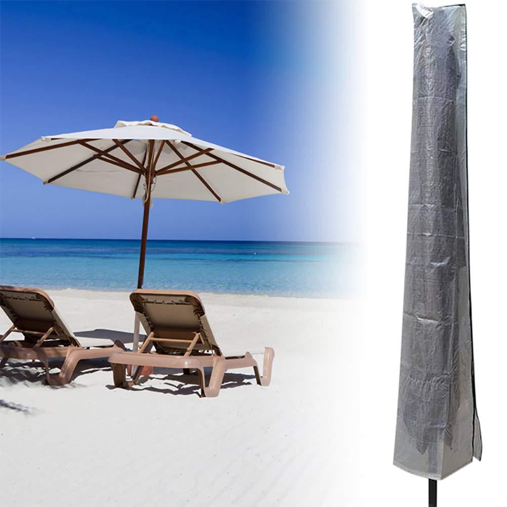 Hihey Extra Large Parasol Impermeabile Outdoor Tipo Dritto Zipper Umbrella Screen Protector Cover Umbrella Storage Bag