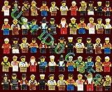 60Pcs Grab Bag Lot of Minifigures Figures Men - Best Reviews Guide