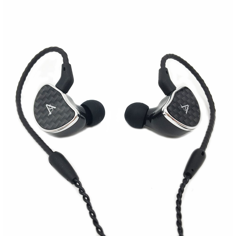 Shozy Hibiki MK2/MK II High-Definition Headphones Single Dynamic Driver HiFi In-Ear Earphone IEMs with 2-pin 0.78mm Detachable Cable, Mic
