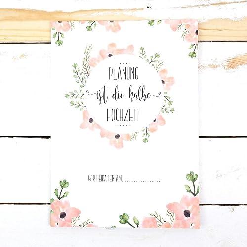 Hochzeitsordner Sammelmappe Planung Ist Die Halbe Hochzeit