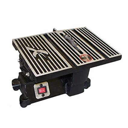 4 Mini Electric Table Saw 4500 Rpm Hobby Craft Tablesaw 2 Blades