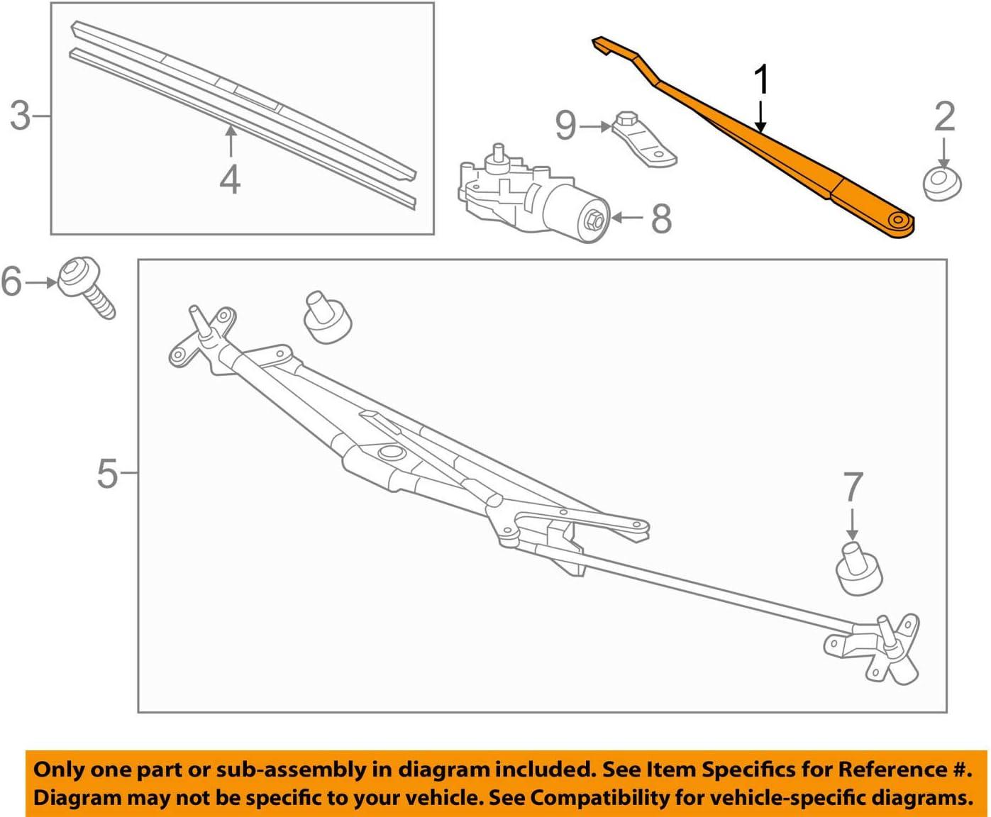 Genuine Honda 76610-SCV-A01 Windshield Wiper Arm
