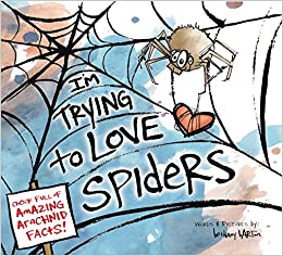 Image result for i'm trying to love spiders
