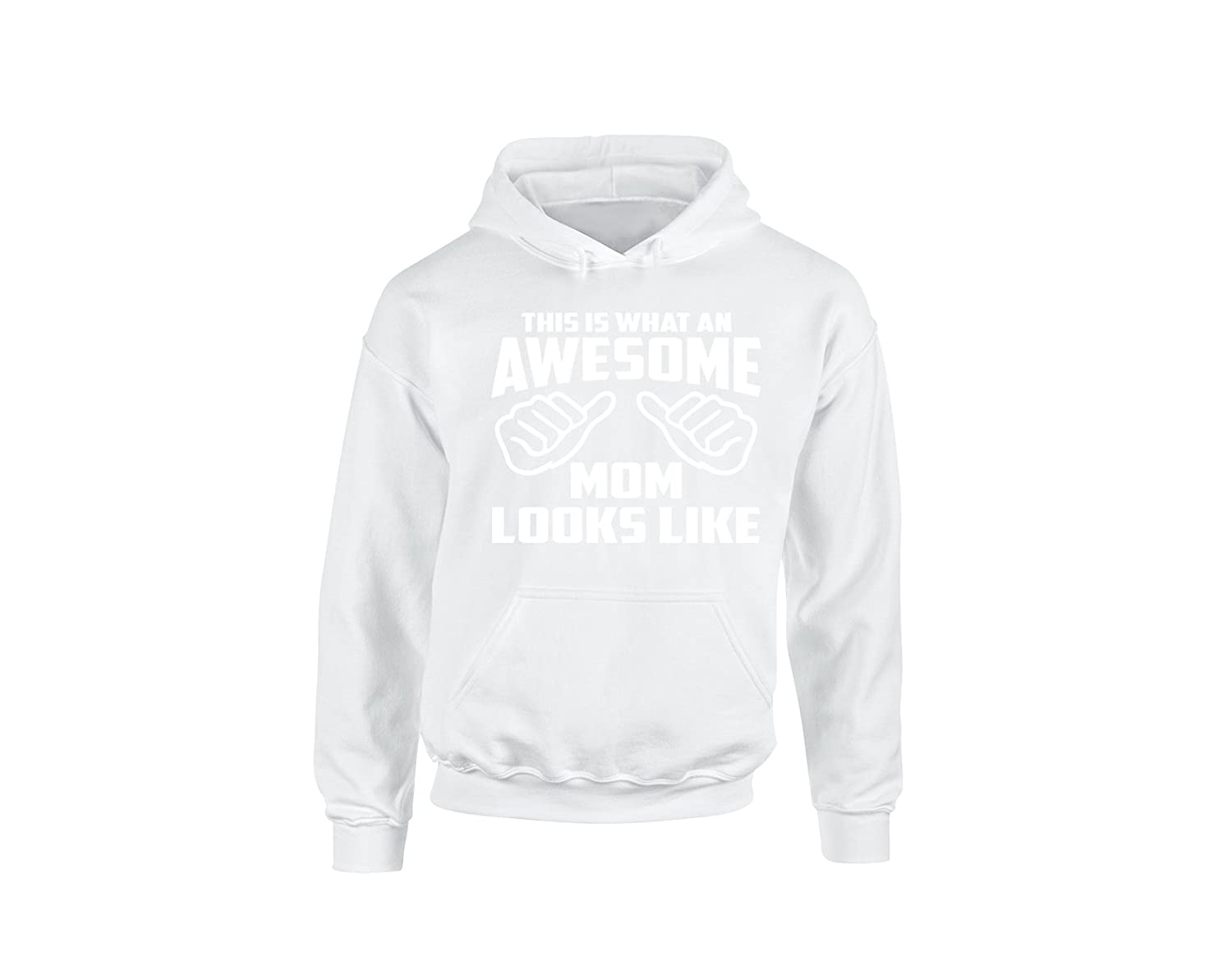 Falcon This is What an Awesome Mom Look Like Mothers Day Unisex Hoodie Hooded Sweatshirt