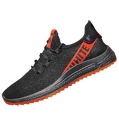 Zapatos deportivos para adultos, casual Smart Low-Top Mesh ultra-ligero transpirable unisex zapatillas para gimnasio fitness deportivo jogging deportes: ...
